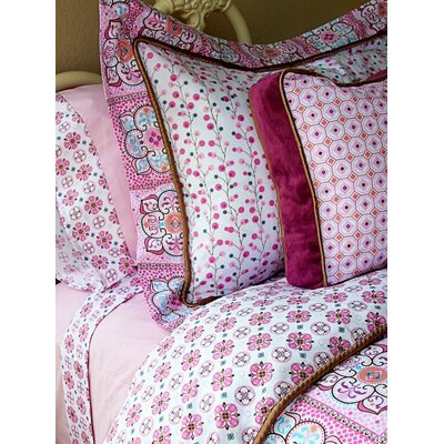 Caden Lane Modern Vintage Girl Sheet Set