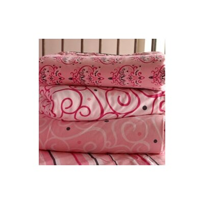 Caden Lane Luxe Pink Changing Pad Cover