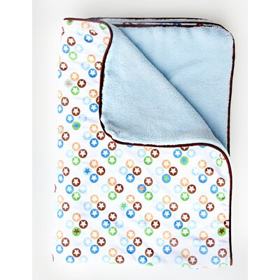 Caden Lane Boutique Star Dot Piped Blanket