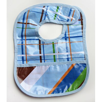Caden Lane Boutique Diagonal Stripe Coated Bib