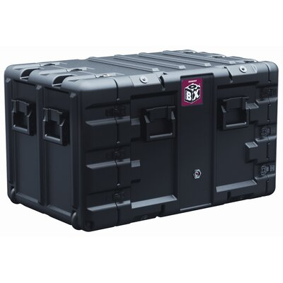 Box 9U Rack Mount Case: 21.9
