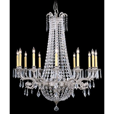 Framburg Baronness 12 Light Foyer Chandelier