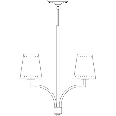 Framburg Montreux 2 Light Mini Chandelier