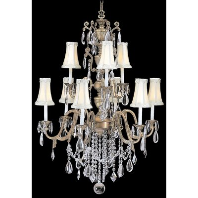Czarina 9 Light Foyer Chandelier