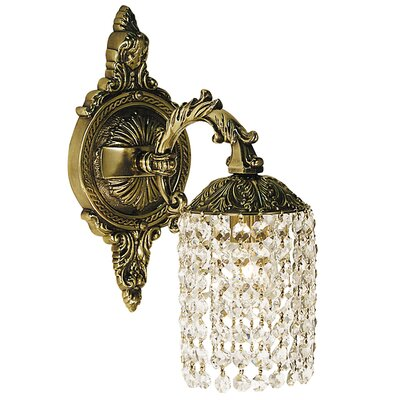 Framburg Faustina Wall Sconce in French Brass