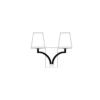 Framburg Montreux 2 Light Wall Sconce