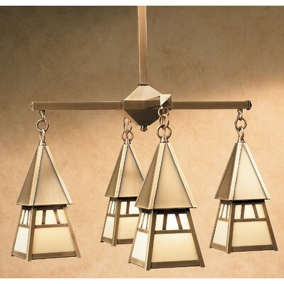 Arroyo Craftsman Dartmouth 4 Light Chandelier