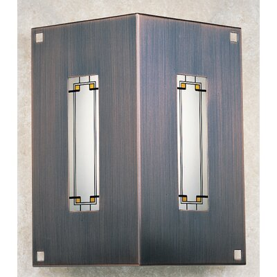 Arroyo Craftsman Franklin Two Sided Wall Sconce