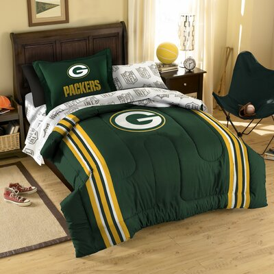 Northwest Co. NFL Green Bay Packers Bed in Bag Set