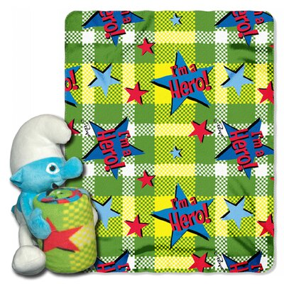 Smurfs Polyester Fleece Throw