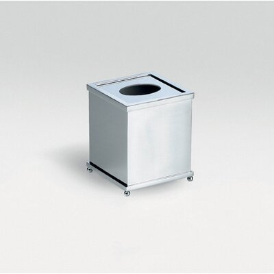 Complements Salomonic Tissue Box in Polished Chrome