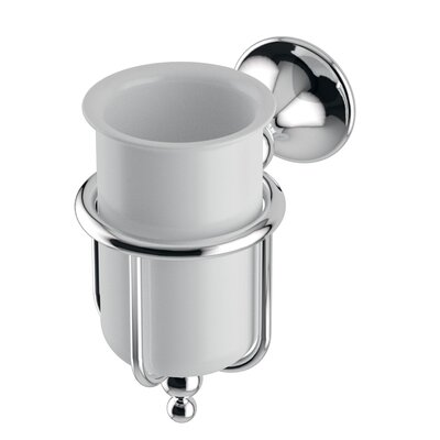 WS Bath Collections Venessia Tumbler Holder in Polished Chrome