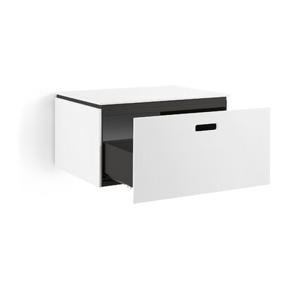 "WS Bath Collections Ciocole 27.6"" Wall-Mount Bathroom Vanity Set"