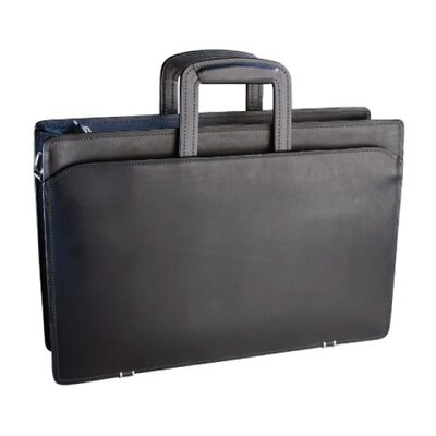 Korchmar Top Zip Briefcase
