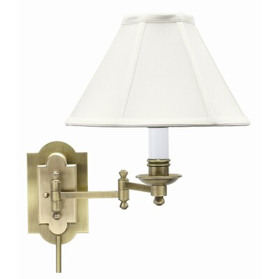 House of Troy Club Swing Arm Wall Lamp