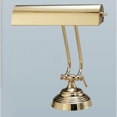 "House of Troy 10.5""  Desk Lamp in Polished Brass"