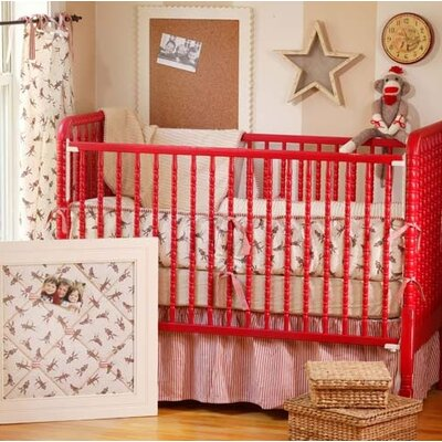 New Arrivals Sock Monkey Crib Bedding Collection