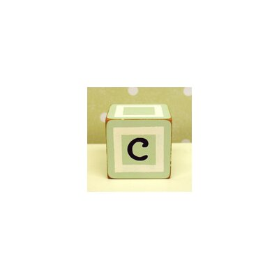 "New Arrivals ""c"" Letter Block in Green"