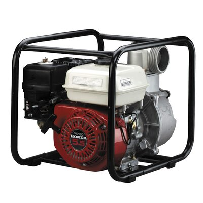5.5 HP Honda Gasoline-Powered Transfer Utility Pump