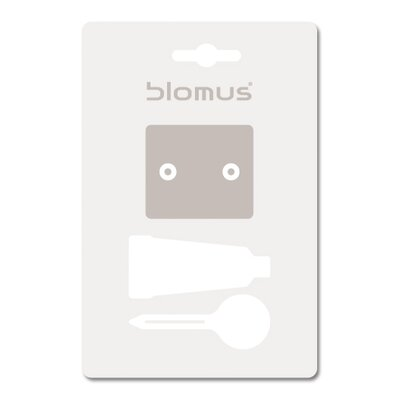 Blomus Sento Twin Towel Rail with Optional Wall Mounting Kit