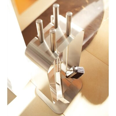 Blomus Bebop 4 Piece Stainless Steel Fireplace Tool Set