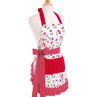 Women's Apron in Very Cherry