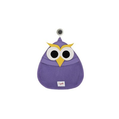 3 Sprouts Owl Bath Storage Caddy