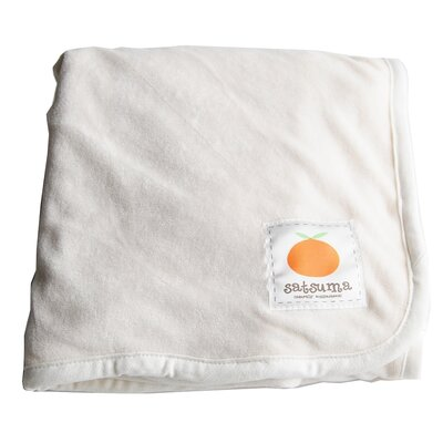Satsuma Designs Bamboo Baby Blanket in Natural