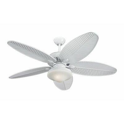 "Monte Carlo Fan Company 52"" Cruise 5 Blade Outdoor Ceiling Fan"