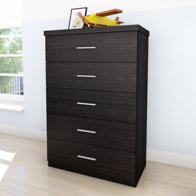 dCOR design Willow 5 Drawer Chest