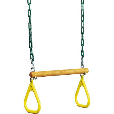 Playtime Swing Sets Ring Trapeze with Chain