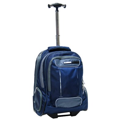 "CalPak Satellite 18"" Rolling Laptop Backpack"