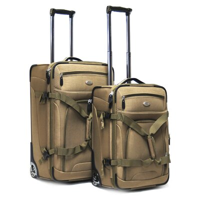 CalPak Journey Expandable 2 Piece Luggage Set