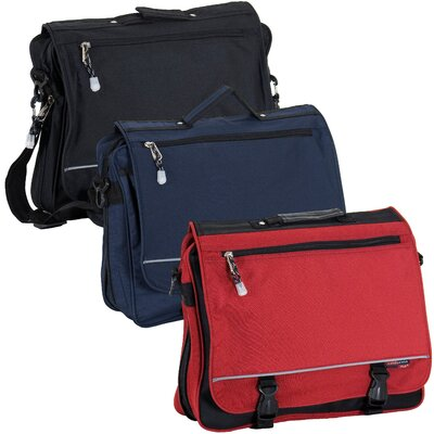 CalPak Negotiator Expandable Soft Briefcase