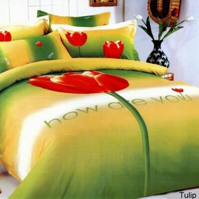 Le Vele Tulip Duvet Cover Bedding Set
