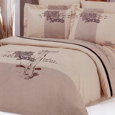 Le Vele Golf 6 Piece Full / Queen Duvet Cover Bedding Set