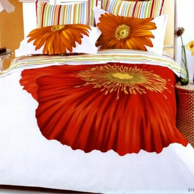 Le Vele Cicek Duvet Cover Bedding Set