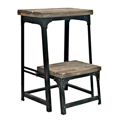 Crestview Collection Industria Step Stool