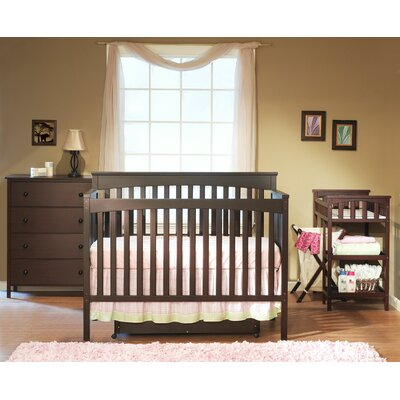 Sorelle Petite Paradise 4-in-1 Convertible Crib Set