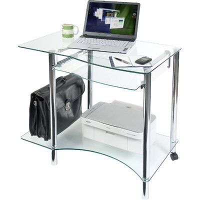 Modal Ice Glass Workstation
