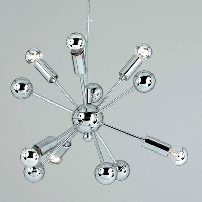 AF Lighting Supernova 6 Light Mini Chandelier