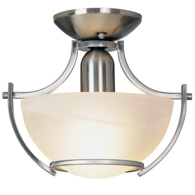 AF Lighting Durango Lighting 1 Light Semi-Flush Mount