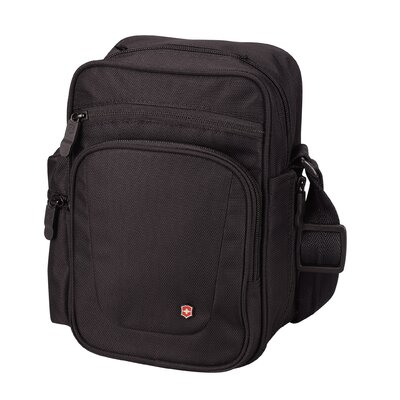 Victorinox Travel Gear Lifestyle Accessories 3.0 Vertical Travel Companion Over-The-Shoulder Tote in Black