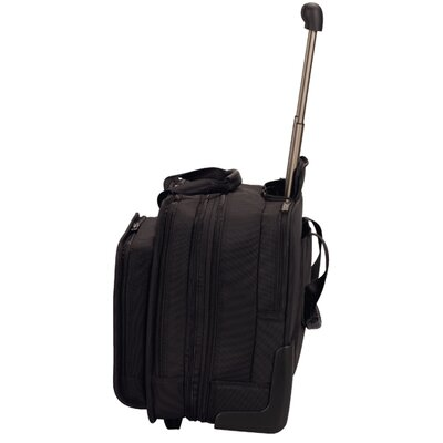 "Victorinox Travel Gear Architecture® 3.0 Rolling Parliament 17"" Expandable Wheeled Laptop Case in Black"