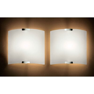 Murano Luce Big Wall Sconce in White