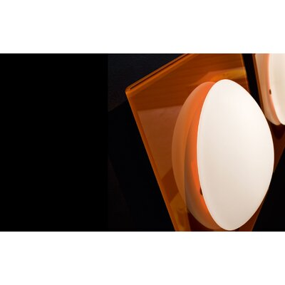 Murano Luce Star Flush Mount