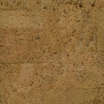 "US Floors Natural Cork New Dimensions 7-9/32"" Locking Engineered Floating Cork in Ladrillo"