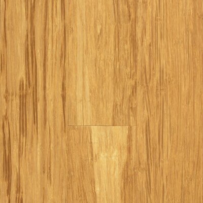 "US Floors Natural Bamboo 3-3/4"" Engineered Strand Woven Bamboo Flooring in Natural"