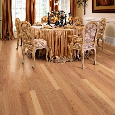 "Columbia Flooring Morton 3"" Engineered Hardwood Cherry Flooring in Rustic"