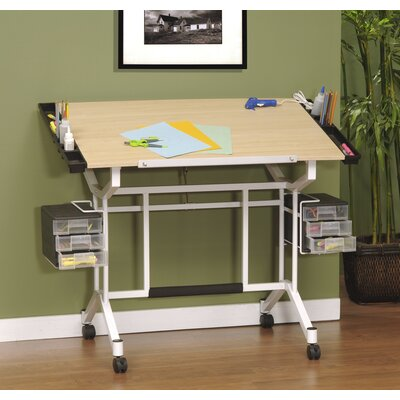Studio Designs Pro Station Wood Drafting Table